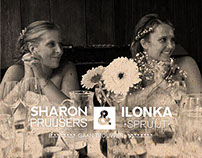 Trouwerij Sharon & Ilonka