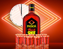 Passoa - Red shot launch