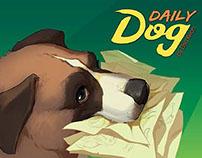 """Daily Dog"" artbook layout"