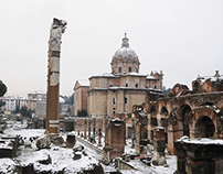 Let it snow in Rome! {2012}