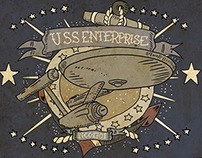 USS Enterprise Tattoo
