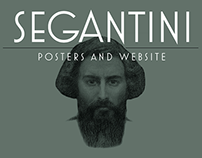 Segantini exhibition posters and website