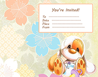 Tea Party Invitations Baby Shower
