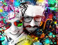 Colourful (digital) Portraits
