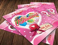 Valentines Cookies Flyer Template