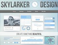 Skylarker Design Website