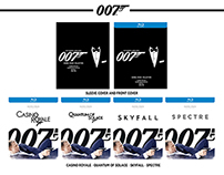 007 James Bond Daniel Craig Collection Blu Ray Designs