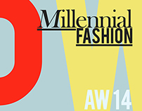 MILLENNIAL FASHION-LOGO ID & INVITE