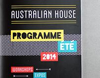 Australian House // Brochure