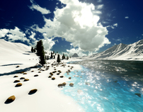 Amazing 3D nature backgrounds