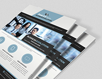 Business Evolution Flyer Template Ill