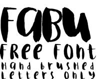 Fabu Free Font