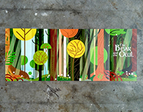 Magical Forest Wedding Invitations