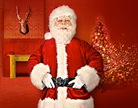 DE BIJENKORF Santa's message