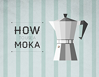 How to use a Moka | infographic