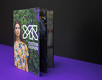 YR Custom Fashion — booklet design