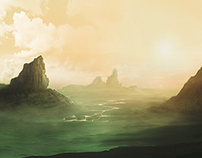 Landscape of a new world