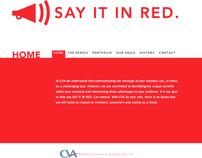 CVA Advertising & Marketing Website - Collaboration