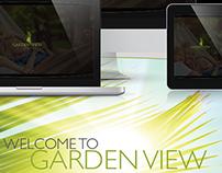 Garden View . Website UX/UI