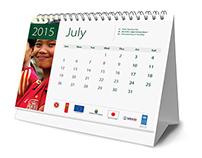 UNDP Calendar Design