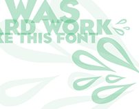 Phwah! Font