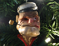 Popeye Xmas Ornament