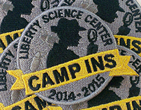 Camp Ins Patch 2014-2015 Mystery at the Museum