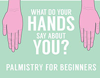 Palmistry Infographic