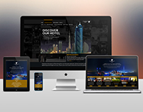 JWMM Dubai - Website Design Layout and Mockups
