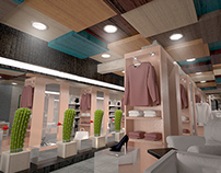 clothing store (3dsmax)