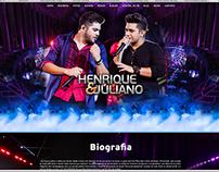 Henrique e Juliano (website)