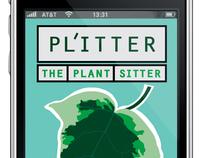 PL'ITTER app design
