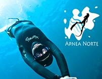 Cartel for Apnea Norte course.