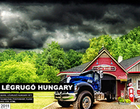 Légrugo Hungary website