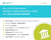 EstateMLS - Real Estate MLS Listings WP Theme