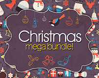 Christmas - New Year 2015 Art & Fonts