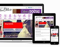 Modern Gelin Web Sitesi