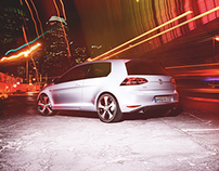 Volkswagen Golf GTI - Print launch campaign