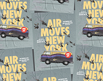 Air Moves New York Poster