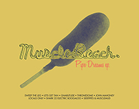 "Muscle Beach ""Pipe Dreams"" EP Vinyl Record"