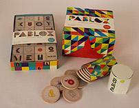 Pablox Kid's Game Packaging + App