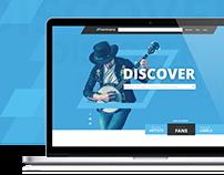 Bandcamp Website Redesign