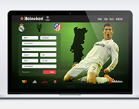Heineken - Champions League mock up ad promo