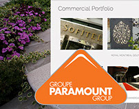 Group Paramount Website Design