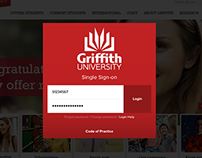 Griffith University Login Redesign