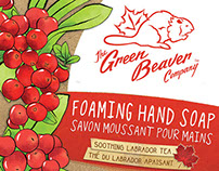 Green Beaver Handwash Packaging Design