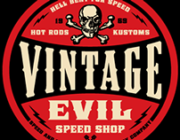 Vintage Evil Speed Shop