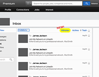 LinkedIn Inbox with NEW feature (Concept)