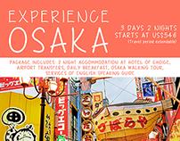 Travel Posters: Osaka, Saigon, Jakarta, Singapore