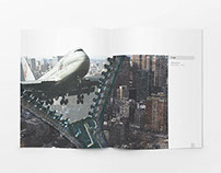 Catalogue design for the exhibition Globalization